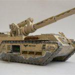 Artillerie lourde : le Basilik MarkI modèle sélénia